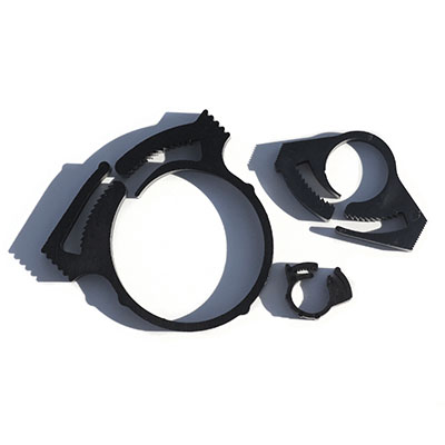 Heyco Nylon Hose Clamps, Plastic Hose Clamps, Adjustable Hose Clamps